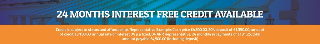 25 months interest free finance