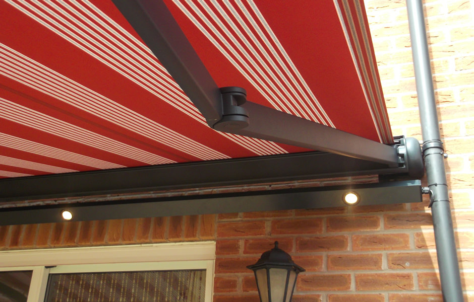 Awning With Light Bar