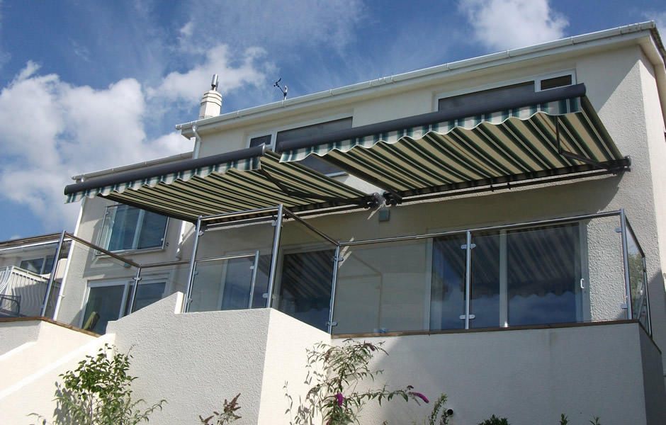 Awnings on Balcony