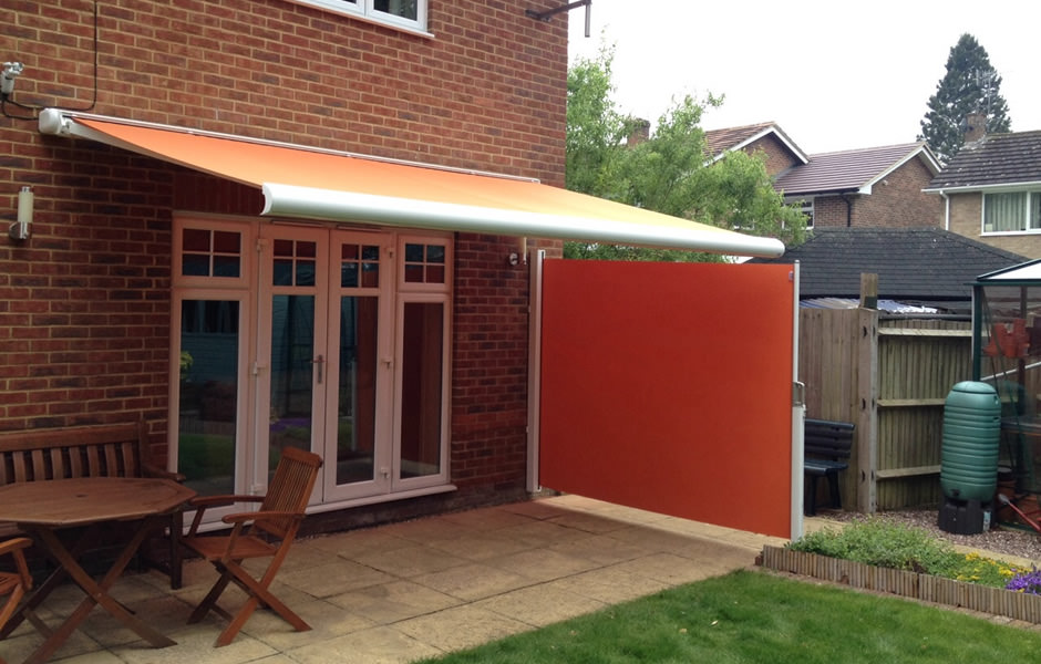 Awning with Side Screen