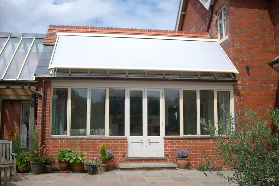 Yellow Conservatory Roof Blind