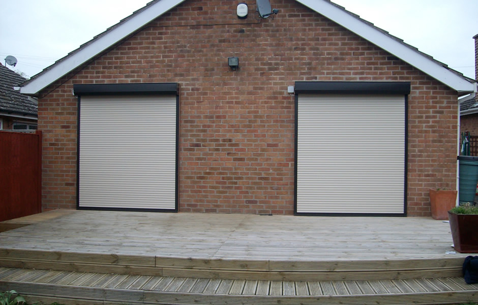 Roller Shutters Closed