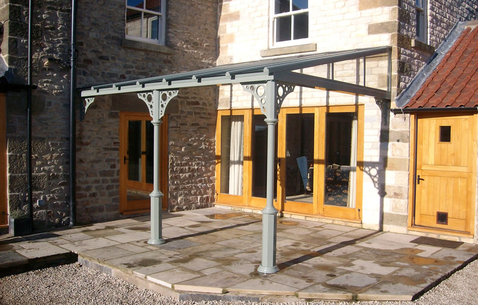 Traditional Glass Veranda
