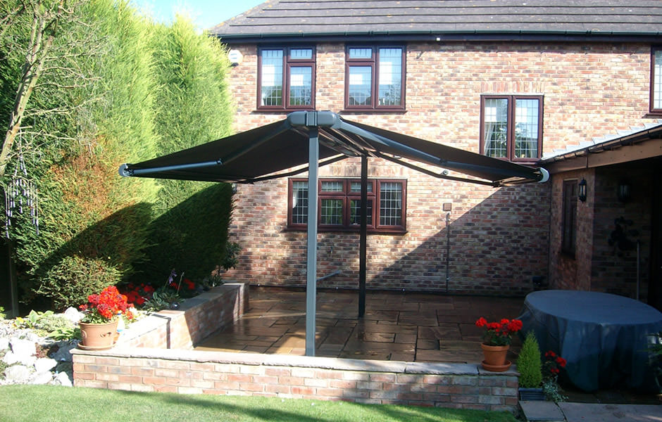 Fixed Freestanding Awning