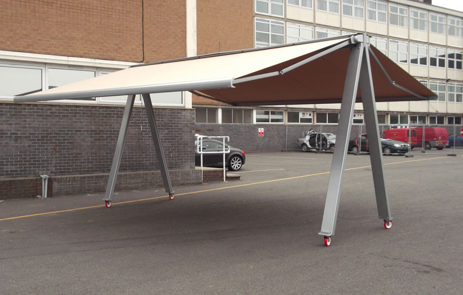 Awning on Wheels